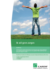 Cover Brochure - Credit Care - Olanda