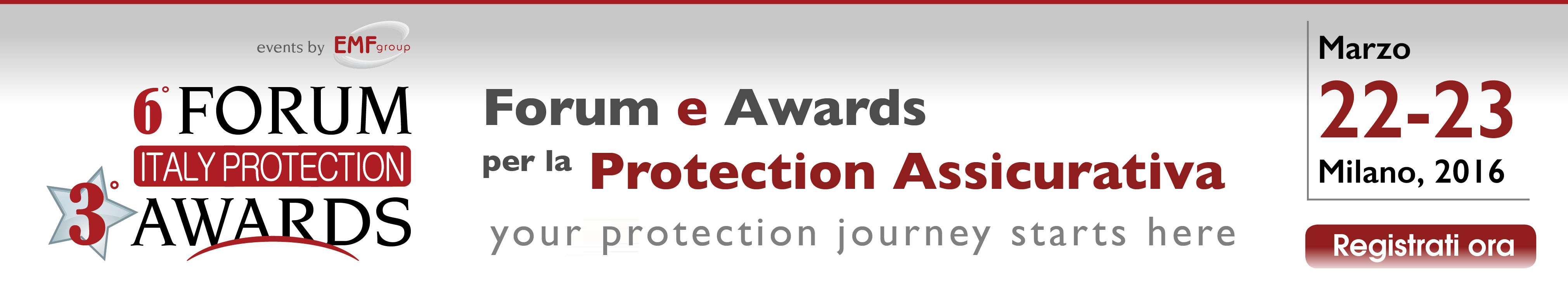 Italy Protection Forum 2016 banner