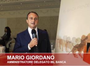 Mario Giordano - Amministratore Delegato IBL Banca , quotazione STAR ipo